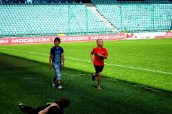 Zwiedzanie stadionu Legii